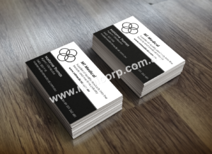 MT Medical Business Cards